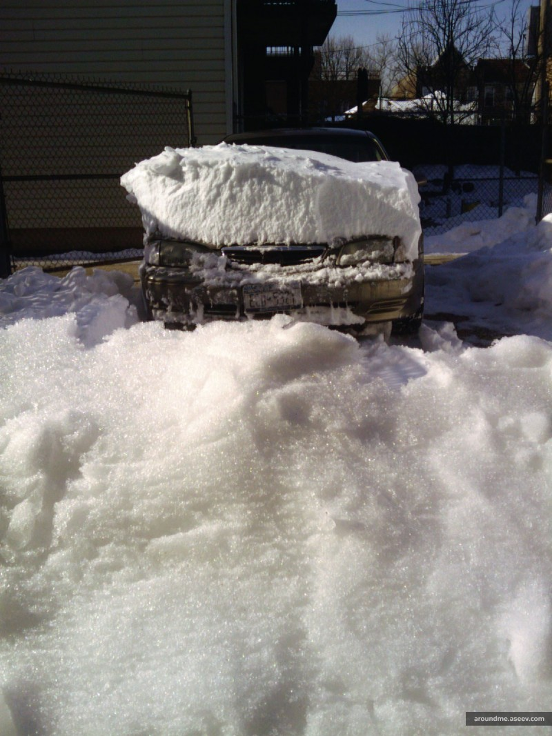 My Car Buried Under the Snow, Blizzard 2010