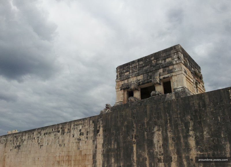 Temple of the Jaguar, Great Ball Court, Chichen Itza