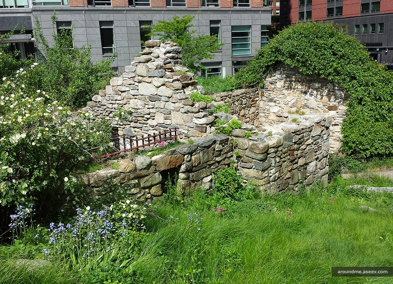 Part of the Irish Hunger Memorial