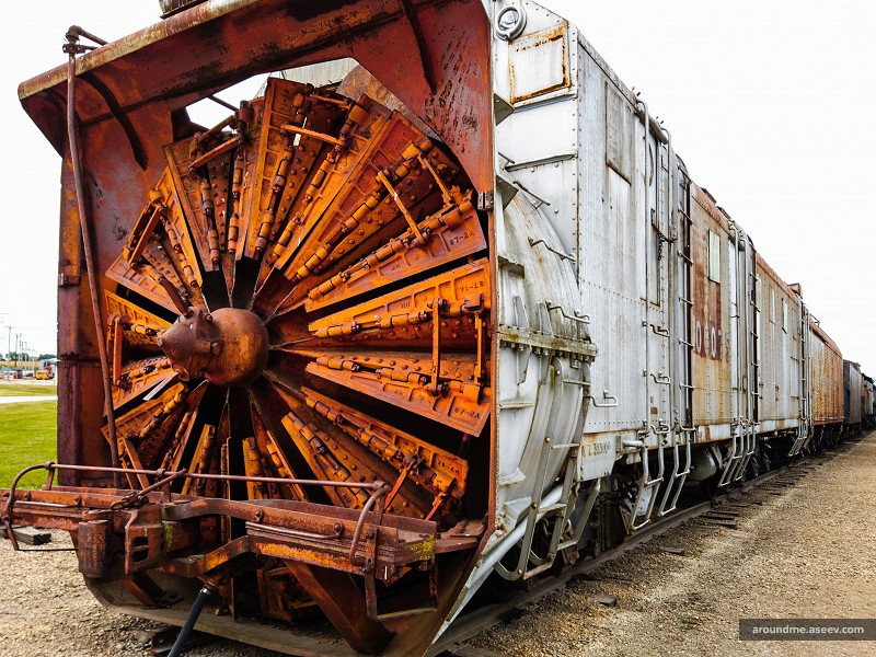 Rotary Snowplow at the IRM