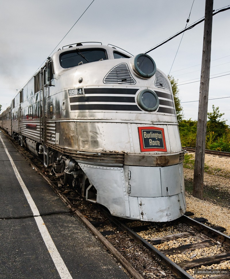 Nebraska Zephyr - EMD E5 Locomotive