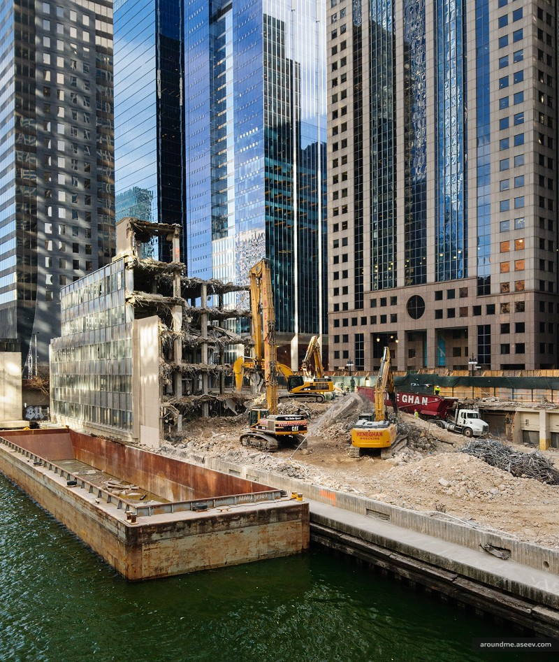 Remains of 110 N Upper Wacker Drive
